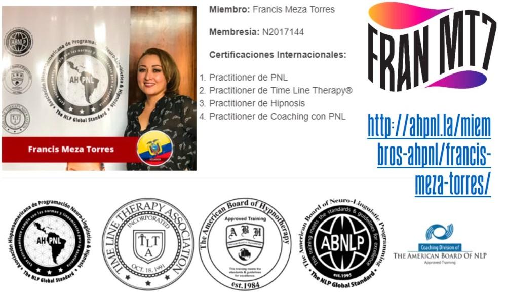 Fran MT7 Coach PNL Hipnosis 01