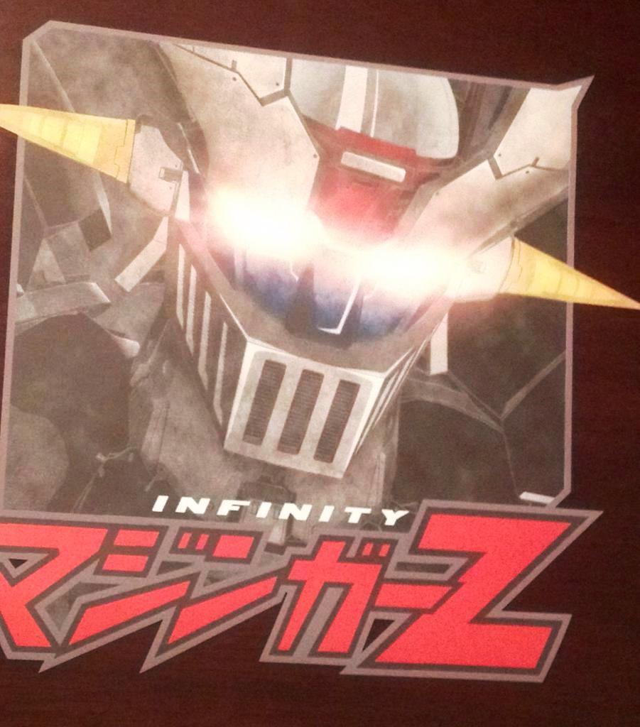 CM7 custom print t-shirt Mazinger